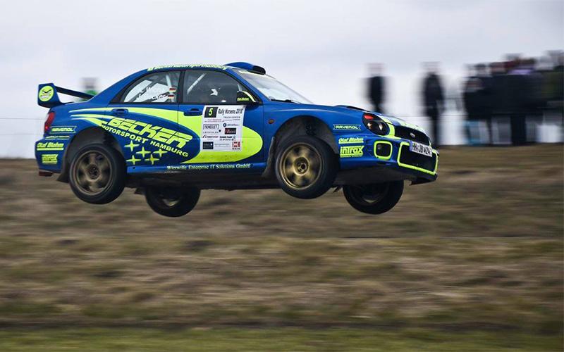 Jan Becker / Klaus Wicha | Subaru WRC | Dänische Rally-Meisterschaft 2018