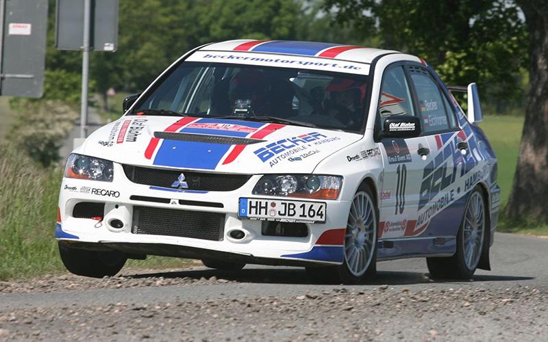 Jan Becker / Stefan Eichhorner | Mitsubishi Lancer EVO 9 | 2007 Sachsen Rallye DRM